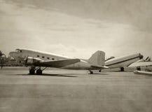 samoloty starzy Obrazy Royalty Free