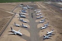 Samoloty w Magazynie Obraz Stock
