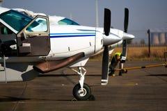samoloty zaświecają dwa Fotografia Stock