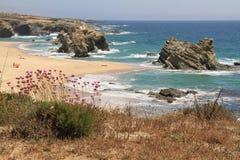 Samoqueira beach Stock Image