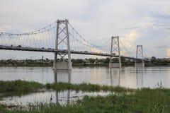 Samora Machel bro Ponte Samora Machel Royaltyfri Bild