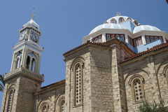 Samos church Royalty Free Stock Image