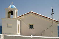 Samos church Royalty Free Stock Images
