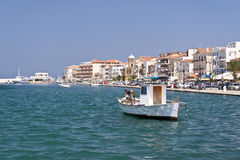 Samos city Stock Photography