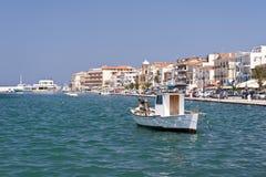 Samos city Stock Photography