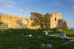 Samos island. royalty free stock image