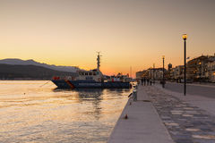 Samos island in Greece. Stock Images