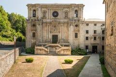 Samos kloster Arkivbilder