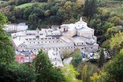 Samos kloster Arkivbild