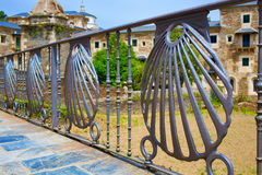 Samos monastery by the way of Saint James. In Galicia Lugo royalty free stock photos