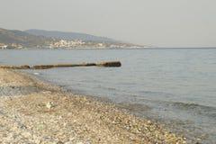Samos plaża obrazy stock