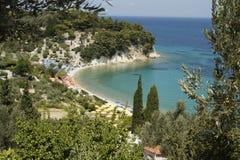 Samos Tsamadu Beach Stock Image