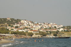 Samos view Stock Images
