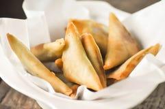 Samosa, индийская закуска Стоковые Изображения RF