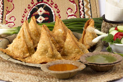 SAMOSA FOOD Stock Image