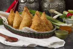 SAMOSA FOOD Royalty Free Stock Images