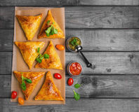 Samosa food photo Stock Photos