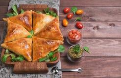 Samosa food photo Stock Photo
