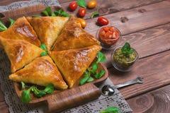 Samosa food photo Royalty Free Stock Photo