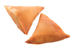 Samosa isolated Royalty Free Stock Photos
