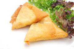 Samosa pockets Stock Images