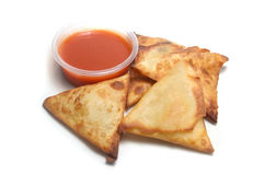 Samosa snack Royalty Free Stock Images