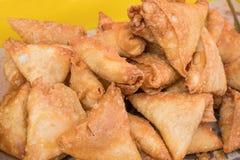 Samosas цыпленка Стоковое фото RF