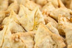 Samosas as a background Stock Photos