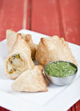 Samosas Royalty Free Stock Images