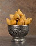 SAMOSHA indian food Royalty Free Stock Photos