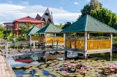 Samosir island in Lake Toba, Sumatra Indonesia Stock Photography