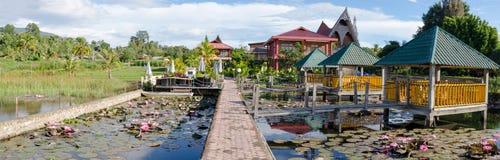 Samosir island in Lake Toba, Sumatra Indonesia Stock Images