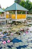 Samosir island in Lake Toba, Sumatra Indonesia Stock Photos