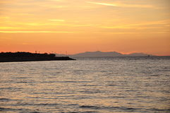 Samothrace海岛,希腊 库存图片
