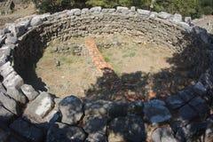 Samothrace ö - Grekland arkivfoton