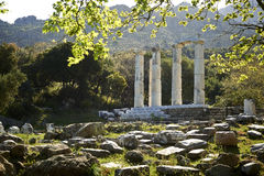 Samothrace, the sanctuary of the Great Gods Stock Image