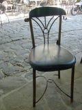 Samothraki island in a classic chair Stock Photography