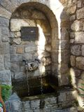 samothraki the island of double- headed fountain Stock Image