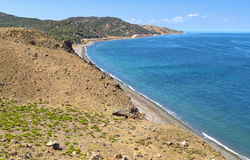 Samothraki island in Greece Royalty Free Stock Image
