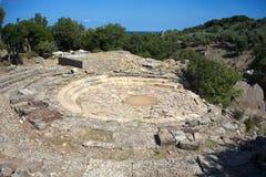 Samothraki island in Greece Stock Images