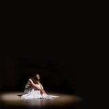 Samotna osoba Zdjęcia Royalty Free