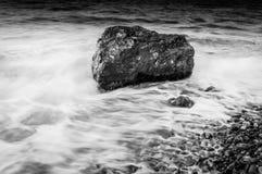 samotna rock Zdjęcie Stock