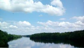 samotna rzeki obraz stock