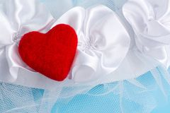 samotne serce Obrazy Royalty Free