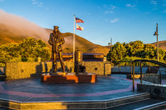 Samotnego żeglarza Pamiątkowa statua, Sausalito, CA Fotografia Stock