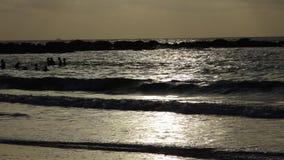 Samotnie w oceanie fotografia stock