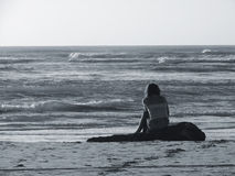 samotny Zdjęcia Stock