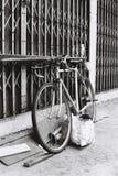 Samotny bicykl w Bangkok Zdjęcia Stock