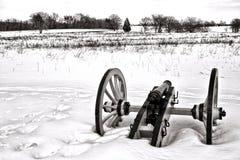 Samotny Canon w polu przy Dolinnym kuźnia parkiem narodowym Obrazy Stock