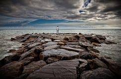 samotny człowiek Zdjęcie Royalty Free